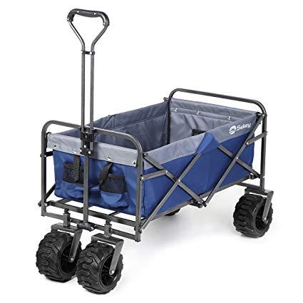CondoCierge - Vacation Convenience Service in Panama City Beach, FL - Foldable Rolling Beach Wagon